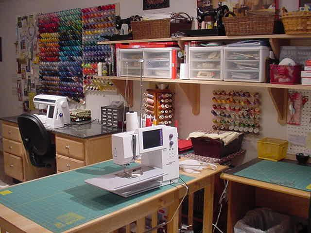 Photo gallery Sewing room designs